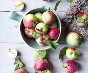 apples, food, and fruit image