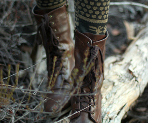 boots, autumn, and winter image