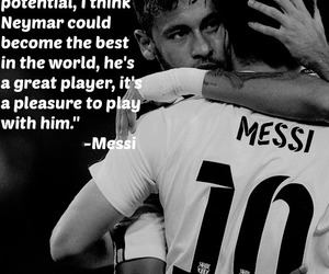 Barcelona, football, and quote image