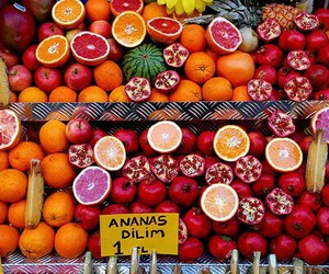 fruit, summer, and tropical image