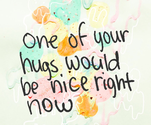 blue, happy, and quote image