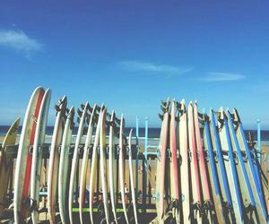 beach, sea, and surf image