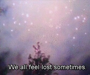 lost, quotes, and grunge image
