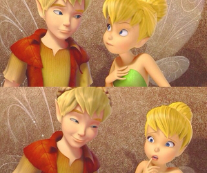 disney, tinkerbell, and terence image