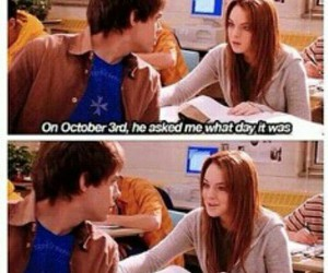 fall, lol, and mean girls image