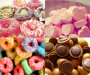 candy, chocolate, and Cookies image
