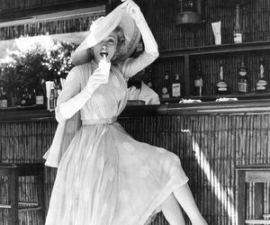 vintage, hat, and Marlene Dietrich image