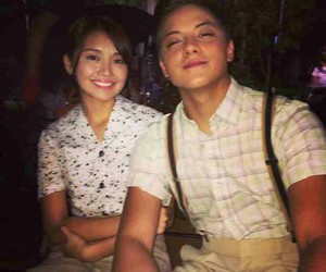 kathniel and daniel and kathryn image