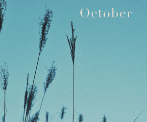 hello, october, and wallpaper image