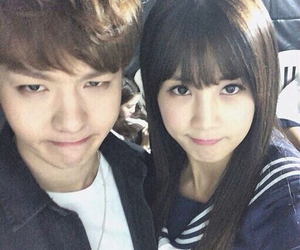 btob, changsub, and chorong image