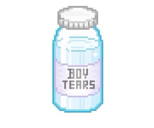 boy, tears, and pale image