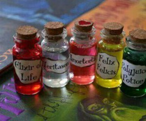 harry potter, potion, and felix felicis image