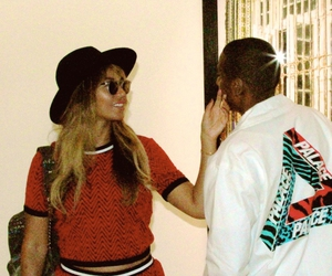 beyoncé, jay z, and queen bey image