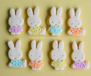 bunnies, bunny, and Cookies image
