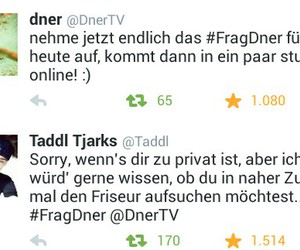 dner, taddl, and twitter ❤❤❤ image
