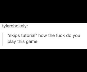 tumblr, funny, and game image