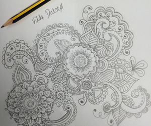 black and white, drawing, and inspiration image