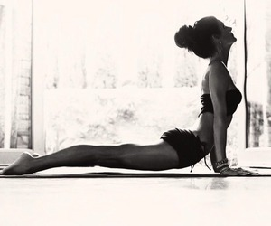 calmness, flexibility, and yoga image