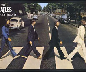 abbey road, music, and yellow submarine image