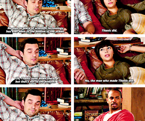 coach, quotes, and new girl image