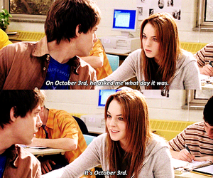 october, mean girls, and 3 image