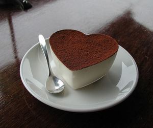 cake, latte, and pretty image