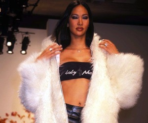 90s, fashion, and fur image