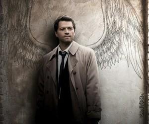 castiel, supernatural, and angel image
