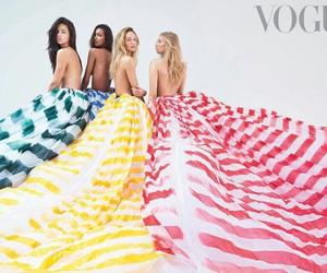 vogue, Adriana Lima, and candice swanepoel image
