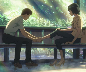 anime, the garden of words, and kotonoha no niwa image