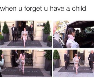 child, haha, and north west image