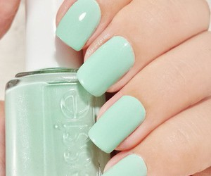 nails, essie, and beautiful image