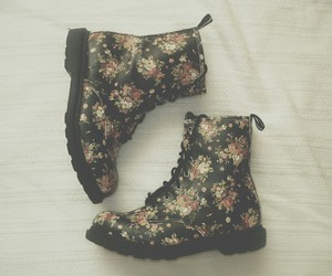 boots, combat boots, and style image