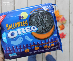 Halloween, oreo, and food image