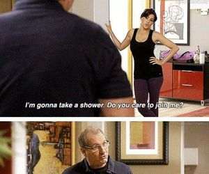 funny, shower, and modern family image