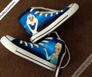 converse, frozen, and shoes image