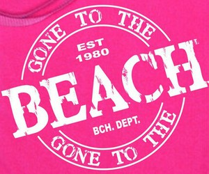 gone to the beach image