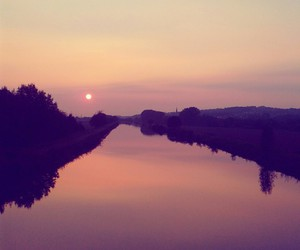 evening, sunset, and germany image