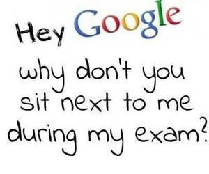 google and exam image
