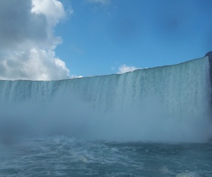 canada, niagara falls, and on the boat image