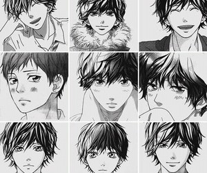 ao haru ride, manga, and anime image