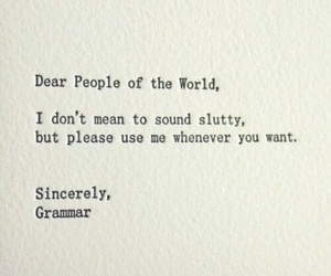 grammar, funny, and quotes image