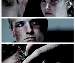 peeta, katniss, and mockingjay image
