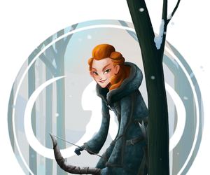 game of thrones and ygritte image