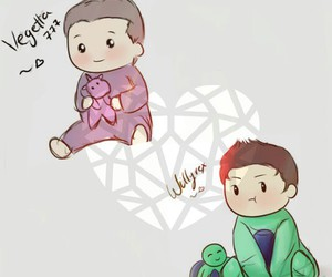 love, vegetta777, and thewillyrex image
