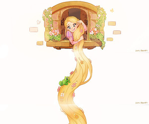 disney, frozen, and rapunzel image