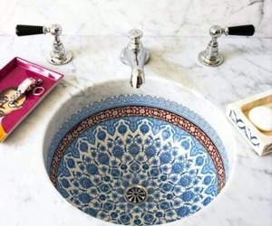bathroom, sink, and home image