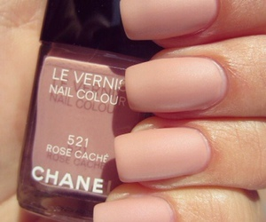nails, chanel, and girly image