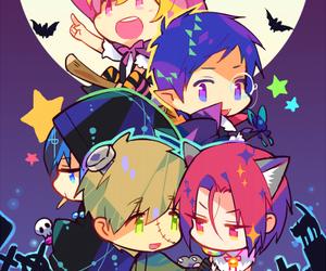 free!, anime, and Halloween image