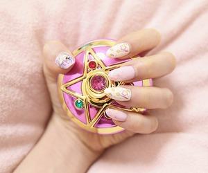 sailor moon, pink, and cute image